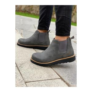 Men's Casual Anthracite Boots