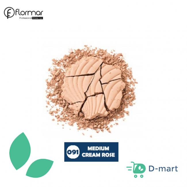 Flormar Wet And Dry Compact Face Powder - 091