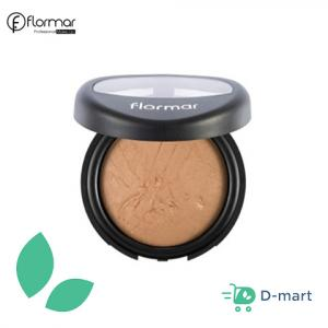 Flormar Baked Blush - 21 Beige With Gold