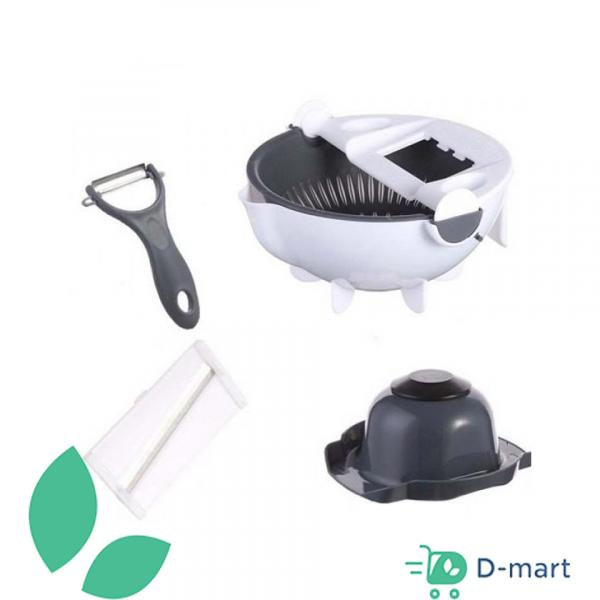 Multi-functional Vegetables Cutter 9 In 1