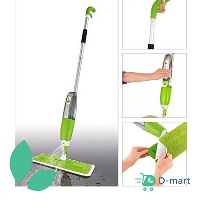 Healthy Spray Mop with Microfibre Cleaning Pad