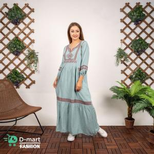 Abaya  Casual for woman Linen and Silk